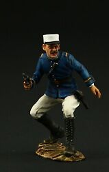 Tin Soldier, Collectible French Foreign Legion, Officer, 1903 54 Mm, Morocco