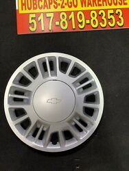 """2000-05 Chevy Malibu 15"""" Mint Used Hubcaps 4 Pack Oem With Centercap. Mint Used"""