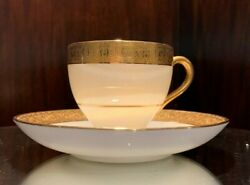 Minton Buckingham Demitasse Cup And Saucer