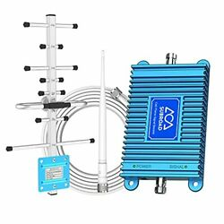 Dual Band Cell Phone Signal Booster 2g/3g/4g Lte 850/1900mhz Band 2/5/25 Cell...
