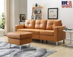 Sofas Set Living Room Furniture Small Space Convertible Sectional Sofa Armchairs