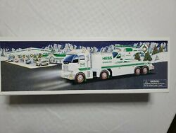 2006 Hess Toy Truck And Helicopter, New Iob