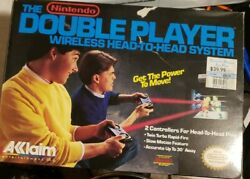 1989 Nes The Nintendo Double Player Wireless Head-to-head System W/box See Descr