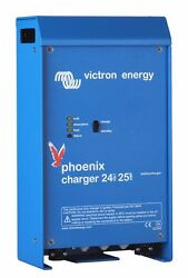 Victron Phoenix Charger 24v 25a 2 Bank Plus 1 Start Marine And Rv Pch024025001