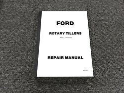 Ford 09gn-1200 09gn-1023 Rotary Tiller Shop Service Repair Manual