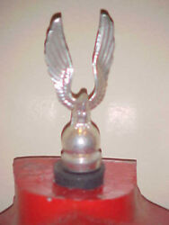 Small American Silver Eagle Finial Topper Police For Gamewell Fire Alarm Box