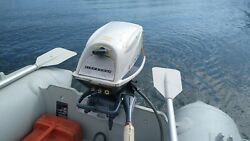 Rare Evinrude Fisherman 5 Hp Outboard Boat Motor In Great Condition Local Only