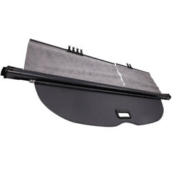 Trunk Security Cargo Shade Cover Fit Nissan Murano 2015-2019 Black Retractable