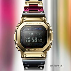Casio G-shock Limited Full Metal Gmw-b5000tr-9jr Free Shipping From Japan