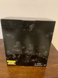 Star Wars Black Series 6 Clone Trooper 4-pack Entertainment Earth Exclusive New