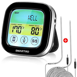 St59 Digital Meat Thermometer For Oven Bbq Grill Kitchen Food Smoker Cooking 2