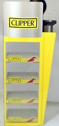 Clipper Lighter Display Stand Perspex Holds 200 Lighters Authentic Stand Only