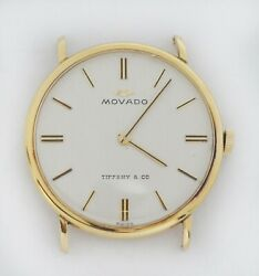 Movado Vintage And Co. 18k Gold Watch