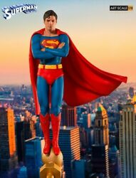 Iron Studios 1/10 Scale Superman The Movie Christopher Reeve 1978 Deluxe Statue