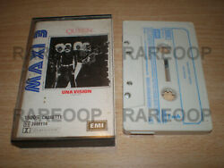 Una Vision [2 Tracks Maxi Single] By Queen Cassette Tape Made In Argentina