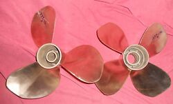Volvo Penta T7 Duoprop Nibral Propeller Set For Ips Drive 3861107 257-16ab