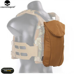 Emerson Tactical Ss Molle Water Bladder Bag Hydration Carrier Vest Pack Hikking