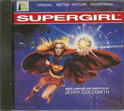 Jerry Goldsmith Supergirl Silva Screen Score Cd Sealed Out Of Print