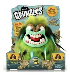 Grumblies Green Tremor Pomies Plush Toy/ In Hand/ready To Ship Factory/sealed