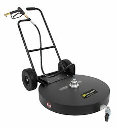 30 Flat Surface Cleaner Hot Cold Water Power Pressure Washer Concrete Driveway
