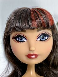 Ever After High Cerise Hood Hat Tastic Tea Party Nude Doll Only Read