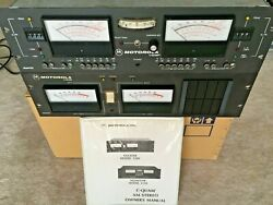 Motorola Cquam Am Stereo Exciter And Modulation Monitor - Tested, Working