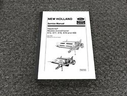 Ford New Holland 472 477 478 479 488 Haybine Mower Conditioner Service Manual