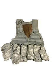 Military Lbv Molle Ii Fighting Load Carrier Vest Rifleman- Mag/grenade/canteen