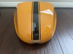 Ducati Sport Classic Fuel Tank Seat Cover And Front Fender - Orange