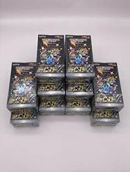 10 Boxes Pokemon Card Game Sword And Shield High Class Pack Shiny Star V Box