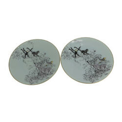 Hermes Tableware China Pale Aqua System Not In Stock In Japan Serving Plate...