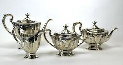 Dominick And Haff Sterling Silver 4 Piece Tea/ Coffee Set