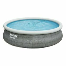 Bestway 57376 13ft X 33 Inch Above Ground Inflatable Ring Style Swimming Pools