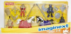 Castle Good Knights Vs Bad Knights Fisher Price Imaginext Retired Rare New