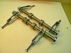 69-77 Honda Cb750 Rear Axles 2, With Nuts And Adujusters Motorcycle Parts