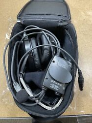 Bose X Noise Canceling Aviation Headset W/ New Ear Pads Lemo Connector