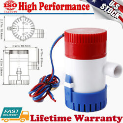 750gph Boat Yacht Marine Automatic Electric 12v Submersible Bilge Water Pump Us