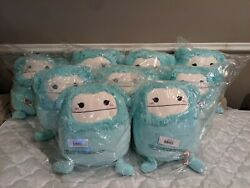 Squishmallow Blue Big Foot 16 Inch Joelle Authentic In Hand
