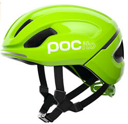 Poc Pocito Omne Spin Youth Helmet Sz Xs 48-52cm Fluorescent Yellow/green Nwb