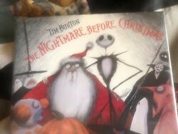 1993 The Nightmare Before Christmas Signed By Tim Burton First Edition