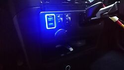Mit Toyota Highlander 2008-2017 Oem Led Dual Usb Port 2.1a Adapter Power Charger