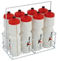 Precision 8 Water Bottles And Wire Carrier