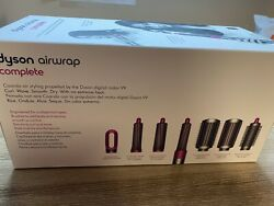 Dyson Airwrap Complete Styler For Multiple Styles Fuchsia - Brand New Sealed