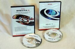 Dvdit Pro 6 /edvd 4 By Sonic Solutions / Professional Dvd Encoding And Authoring
