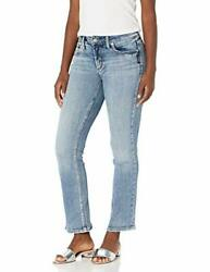 Silver Jeans Co. Womenand039s Elyse Curvy Fit Mid Rise - Choose Sz/color