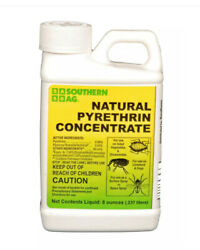 Southern Ag Natural Pyrethrin Organic Insecticide Concentrate 8oz Flies Fleas +