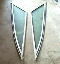1990and039s Chaparral Bow Deck Boat Front Left Right Side Windshield Glass Taylor