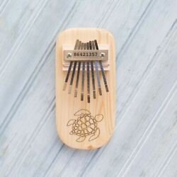 Turtle Engraved Thumb Piano