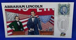 Scott 2433c Fdc Abraham Lincoln Campaign Election World Stamp Expo 1989 Collins