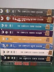 South Park Comedy Dvd Collection Seasons 1-6, 8, 10, The Hits Vol.1 Lot Set